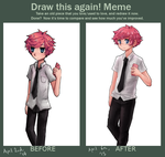 Draw this again meme by Ekkoberry