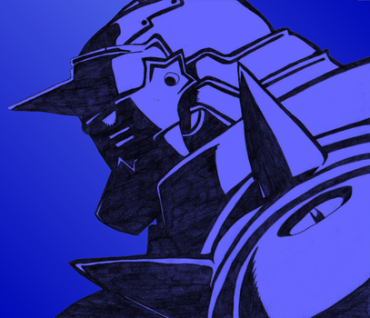 .:Alphonse Elric - COLORED:. by SinfulFox