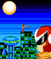 Protoman the Wonderer by spdy4