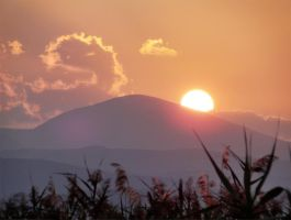 time rising sun by panos-gr