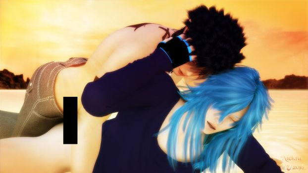I want to touch Aoba (RenAo) by Niekra