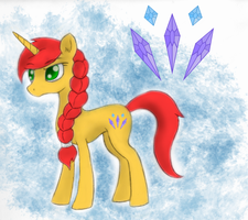 Glitter Shine - Coloured by MartianSketchPones