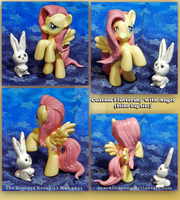 Custom Fluttershy _ blind bag sized by Bearded-Brony