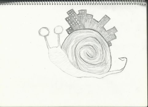 Snail City by iNf3ctedRa1N