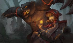 WIP Red Riding Annie Contest Entry by Tvonn9