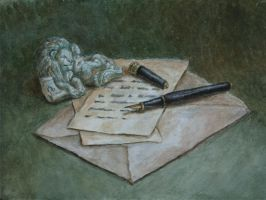 The letter by Lady-DreamArt