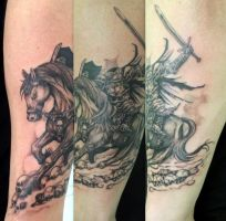 Headless Horseman Tattoo by Juliano-Pereira