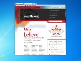 Firefox 5 concept beta by Andrey-S