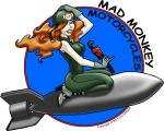 Mad Monkey Motorcycles logo by Defekte-Traume