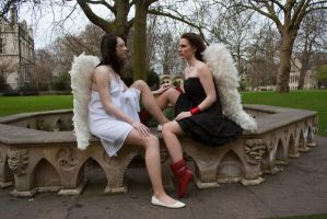 Lesbian Angels stock 51 by Random-Acts-Stock