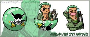 Zoro 2Y squiby pet by Mr0Crocky