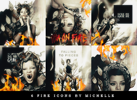 Fire Icons by Miss-Chili