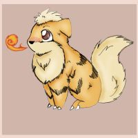 Growlithe by Winter-on-Mars