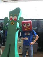 Gumby Costume by OlyRider