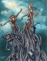 The Harlequins Waltz by jonathan-rector