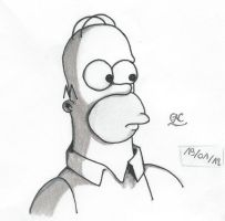 Homer Simpson - Simpson by Muffinsan7