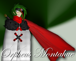 Orpheus Montahue by IvanProwler