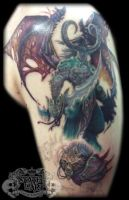 World of warcraft 2 WIP by state-of-art-tattoo