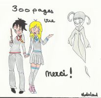 300 vues ! by elodieland