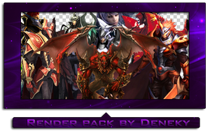 Mu Online render pack by Deneky