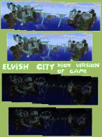 minecraft elf city of elfiegoodness by amiemo---1