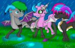 PC-Fun In The Rain by Lady-Ezzie