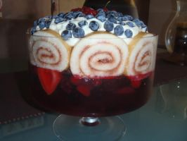 Berry trifle by SuperSiriusXIII