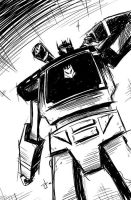 daily sketch SOUNDWAVE by dcjosh