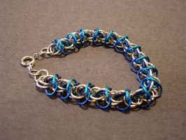 Orchid Bracelet by gnomeofmaille