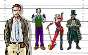 Sourcefed Gotham: The Lineup by shaunriaz