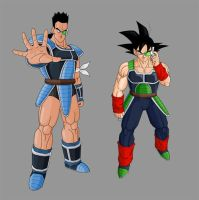 Tora and Bardock by dbzataricommunity