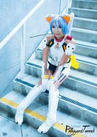 AX15 - Kitty Plugsuit Rei by BlizzardTerrak