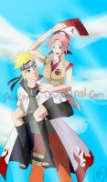 Art Request : naruto and sakura by agent15