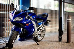SV650s With New Lower Fairing by Smallio123