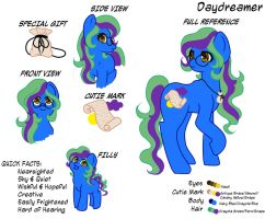 In a Daydream - Daydreamer Reference Sheet FIN by Wildnature03
