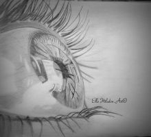 Eye drawing by EHilsdonPhotography