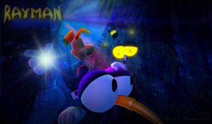 """Team""- Ubisoft rayman contest by RayFan9876"