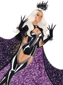 Nicki Minaj by kevinwada