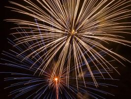 Fireworks Up-Close -2- by Swanee3