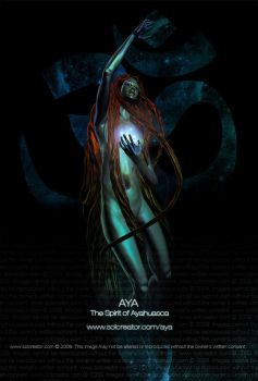 AYA - The Spirit of Ayahuasca by SOLcreator