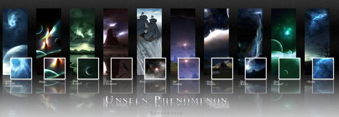 Unseen Phenomenon Pack by TerraSpace
