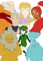 7 sages base colours by Link-artist