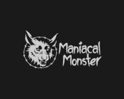 Maniacal-Monster-Logo by IrianWhitefox
