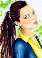 Kitty Pryde Sketch Card 2 by veripwolf