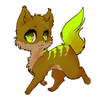 Chibi Wolf :commission: by XErrORX666