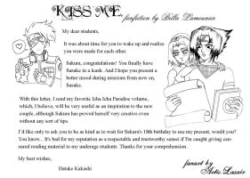 Kiss me fanfiction s lineart by pgushi