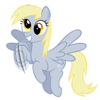 Hi Derpy! by Shachza