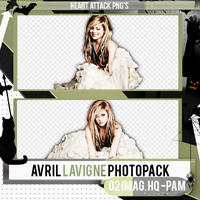 Photopack PNG / Avril Lavigne / 72 by PamHoran