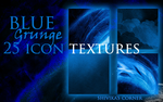 Blue Grunge Icon Textures by spiritcoda