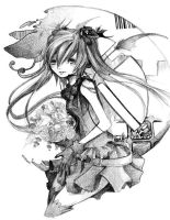 .: Miku - Funeral :. by The-Crowned